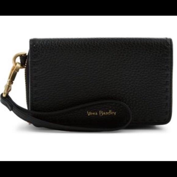 Vera Bradley Mallory RFID leather wristlet